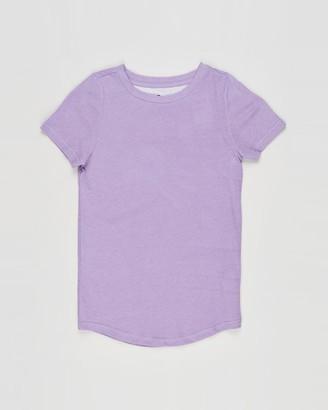 Cotton On Boy's Purple Basic T-Shirts - The Cruz Short Sleeve Long Line Tee - Kids-Teens - Size 2 YRS at The Iconic
