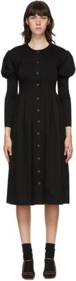 Maryam Nassir Zadeh Black Caldera Mid-Length Dress