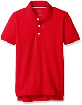 French Toast Big Boys Short Sleeve Pique Polo