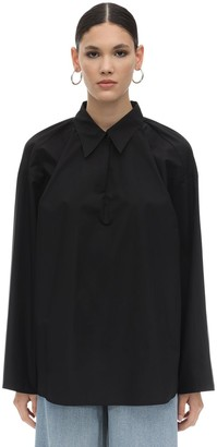 MM6 MAISON MARGIELA Oversize Cotton Poplin Shirt