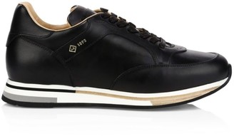 Dunhill Duke Leather Runner Sneakers