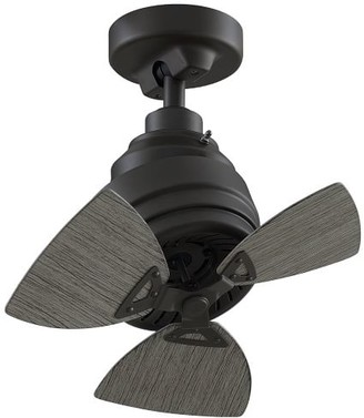 "Pottery Barn 19"" Rotation Indoor/Outdoor Ceiling Fan"