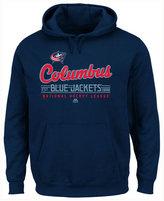 Majestic Men's Columbus Blue Jackets Intense Defense Hoodie