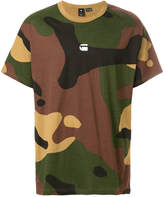 G Star G-Star camouflage print T-shirt