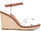 Tommy Hilfiger textile wedges - women - Cotton/rubber - 39