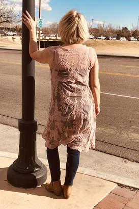 Sweet Generis Lace Duster Vest