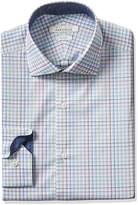 Perry Ellis Portfolio Men's Slim Fit Performance Check Dress Shirt