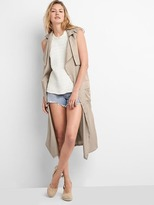 TENCEL trench vest
