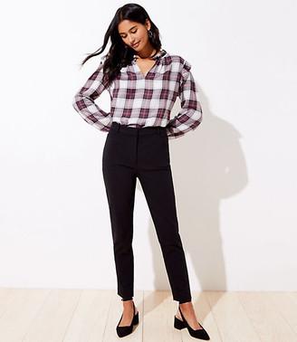 LOFT Petite High Waist Skinny Ankle Pants