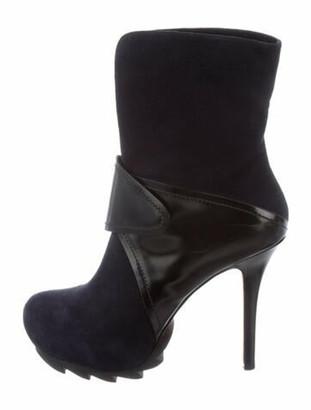 Camilla Skovgaard Suede Boots Blue