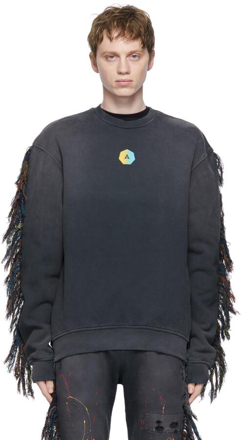 Thumbnail for your product : Alchemist Black Fringe Surfside Sweatshirt