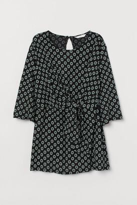 H&M MAMA Blouse with Tie Detail