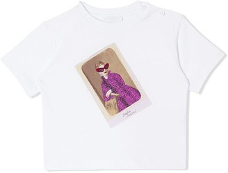 BURBERRY KIDS Collage Print T-shirt