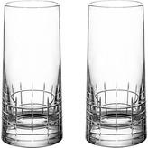 Christofle Graphik Highball Glasses - Set of 2