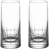Christofle Graphik Highball Glasses