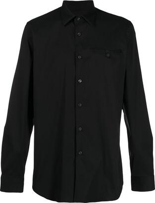 Prada Chest-Pocket Long-Sleeve Shirt