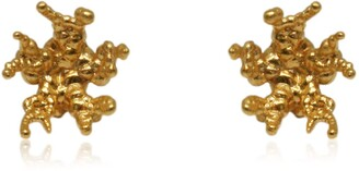 Karolina Bik Jewellery Coral Reef Earrings Gold