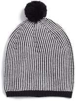 Eileen Fisher Stripe Merino Wool Beanie