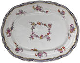 One Kings Lane Vintage Antique English Floral Porcelain Platter