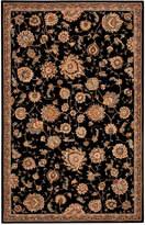 "Nourison Wool & Silk 2000 2360 Black 9'9"" x 13'9"" Area Rug"