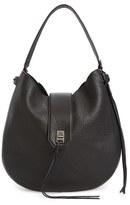 Rebecca Minkoff 'Darren' Leather Hobo Bag - Brown