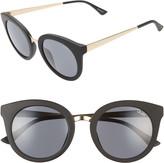 Quay Shook Cat Eye 51mm Sunglasses