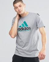 adidas EQT T-Shirt In Gray AY9226