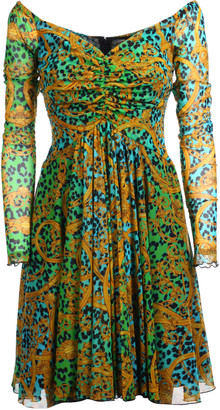 Versace Printed All-over Dress