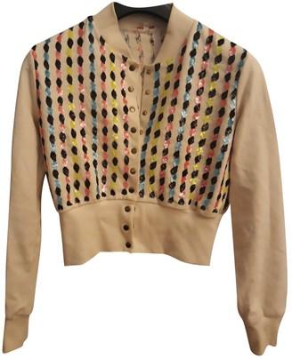 Olympia Le-Tan Olympia Le Tan Beige Cotton Leather jackets