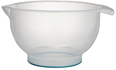 John Lewis Nonslip Plastic Mixing Bowl, 27cm