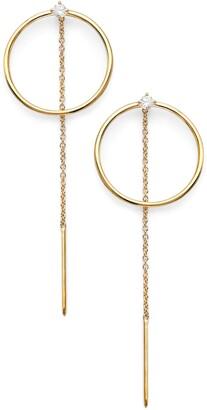 AJOA Threader Hoop Earrings