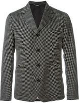 Dolce & Gabbana jacquard tie blazer