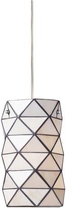 Artistic Home & Lighting 1-Light Tetra Pendant