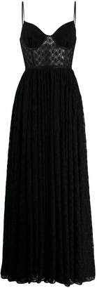 Missoni open knit dress