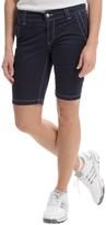 Bogner Varna-G Bermuda Gold Shorts (For Women)