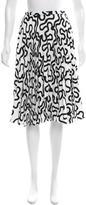 J.W.Anderson Printed Knee-Length Skirt