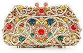 Kate Landry Bright Stone Frame Clutch