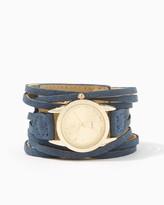 Charming charlie Yaris Leather Bracelet Watch