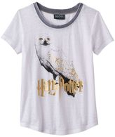 Girls 6-16 Harry Potter Hedwig Owl Tee