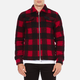 Wood Wood Dale Checked Jacket Biking Red Checks
