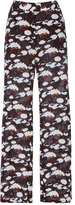 Laura Urbinati Silk Floral Pants