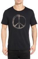 John Varvatos Men's Make Music Not War Graphic T-Shirt