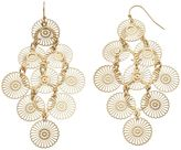JLO by Jennifer Lopez Filigree Kite Earrings
