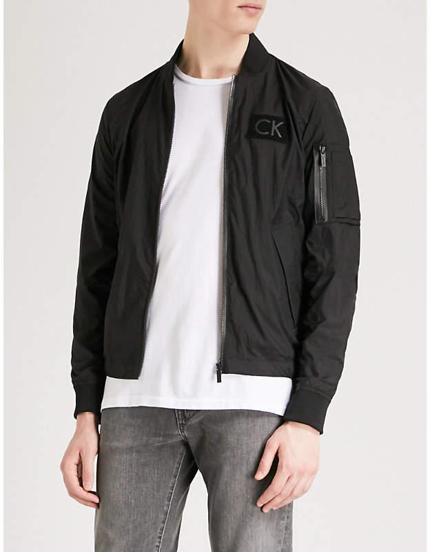 Calvin Klein Omas shell bomber jacket