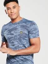 Lyle & Scott Fitness Lyle & Scott Fitness Camo Run T-shirt