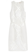 Christopher Kane Sleeveless Lace Tape Dress