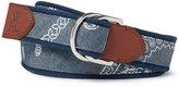 Polo Ralph Lauren Men's Coastal Bandana Belt
