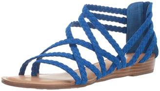 Carlos by Carlos Santana Women's Amara 2 Sandal CORFU Blue 9.5 Medium US
