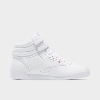Reebok Big Kids' Classic Freestyle Hi Casual Shoes