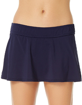Anne Cole Navy Classic Skirted Bikini Bottoms